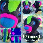 pixel-head