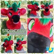 strawberry-head